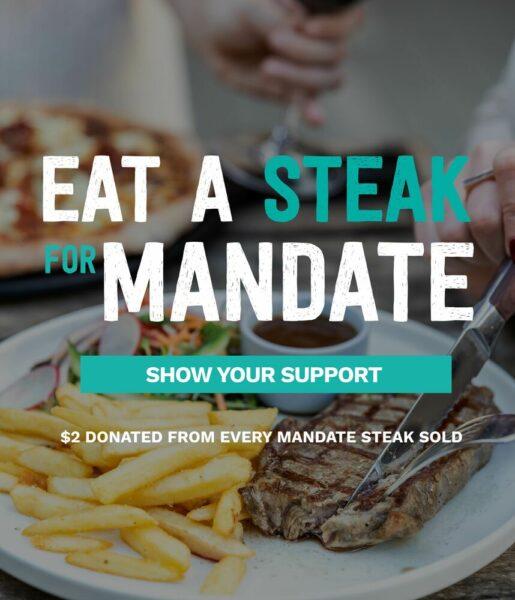 Eat a Steak for Mandate